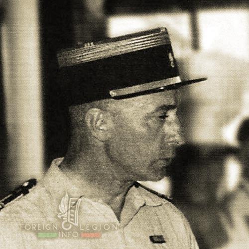 11th REI - 11 REI - Foreign Legion - Maurice Brochet de Vaugrigneuse