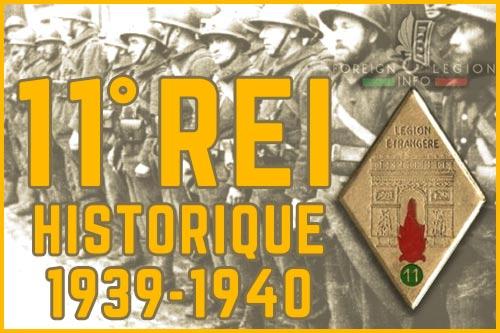 11e Régiment Étranger d'Infanterie - L'historique - 11e REI