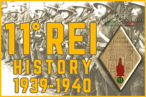 11th Foreign Infantry Regiment - History - 11e REI