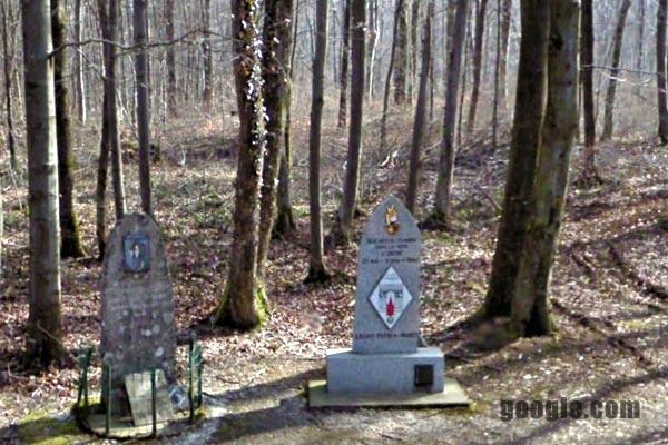 11th REI - 11 REI - gravestone - Inor Wood - Foreign Legion