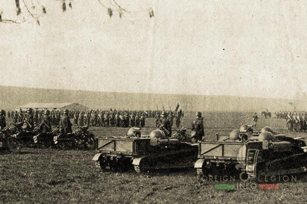 11th REI - 11 REI - Foreign Legion - France - 1940 - Boulay - Flag - Regimental Color