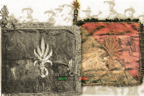 11th REI - 11 REI - Fanion - 1st Battalion