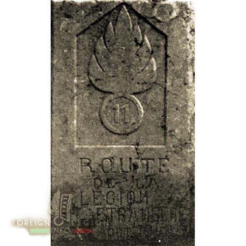 11e REI - 11 REI - 1940 - Route de la Légion - La Borne