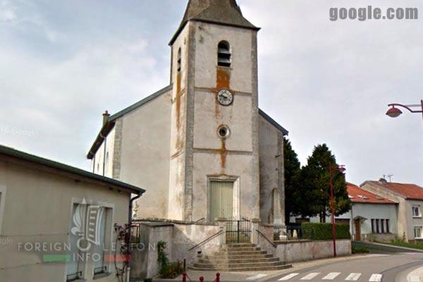 11e REI - 11 REI - L'église Saint-Gengoult de Crézilles