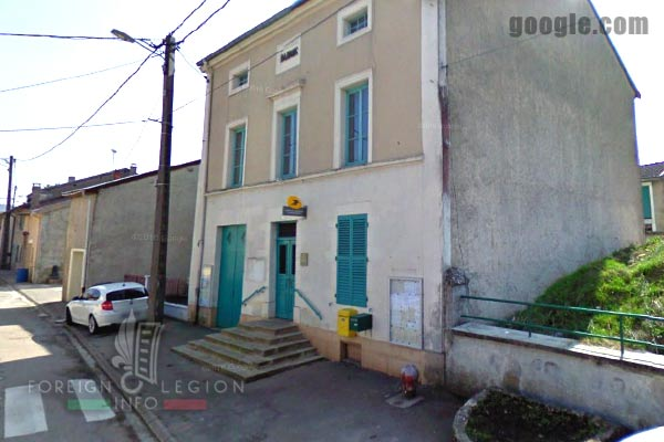 11th REI - 11 REI - Foreign Legion - France - Saint-Germain-sur-Meuse - Post office