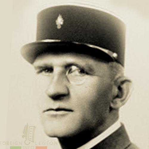 11th REI - 11 REI - Foreign Legion - Major d'Alegron - Henryk Rzekiecki d'Alegron