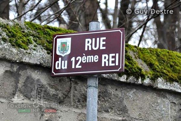 12e REI - 12 REI - Legion Etrangere - France - Rue du 12eme REI - Villeneuve-Saint-Germain