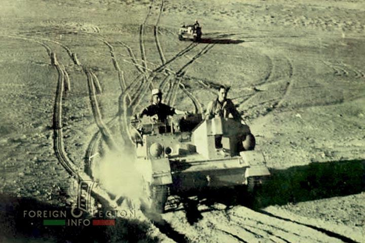 13e DBLE - 13 DBLE - Libya 1942 - Bren Gun Carrier - Universal Carrier