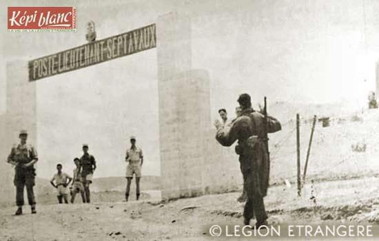 13e DBLE - 13 DBLE - Algeria - Yabous - Poste Septavaux - 1958