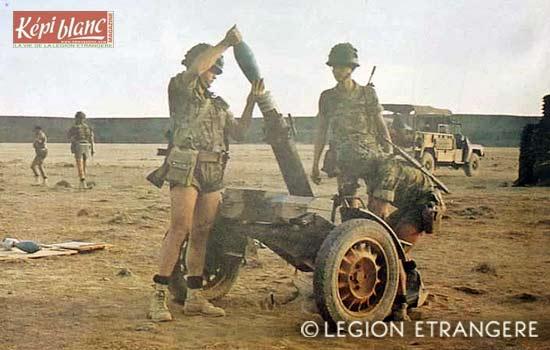 13e DBLE - 13 DBLE - Djibouti - Mortar platoon - Mortiers - 1981