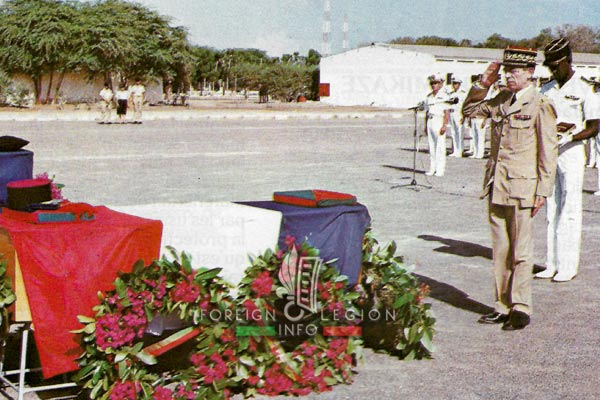 Quartier General Monclar - General Hanrion - Attack - Djibouti - 1987