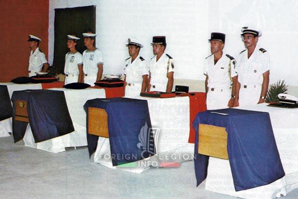 Attack - Djibouti - 1987 - French Army victims - Foreign Legion victim