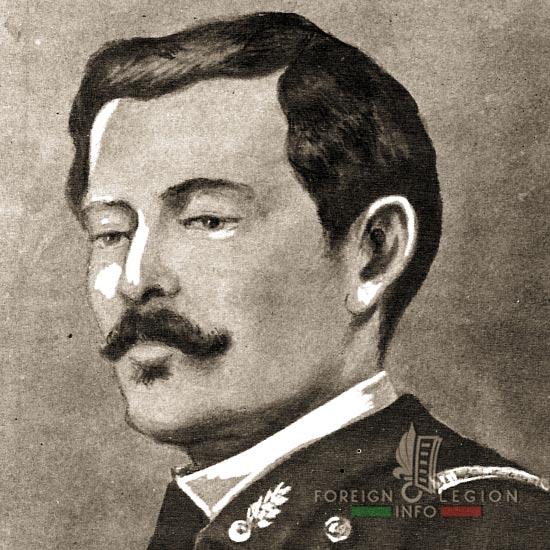 Major Victor Arago - 5th Battalion - 1870