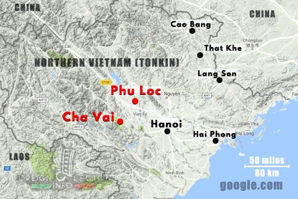 1er BEP - 1 BEP - Foreign Legion Etrangere - 1949 - Vietnam - Cha Vai - Phu Loc