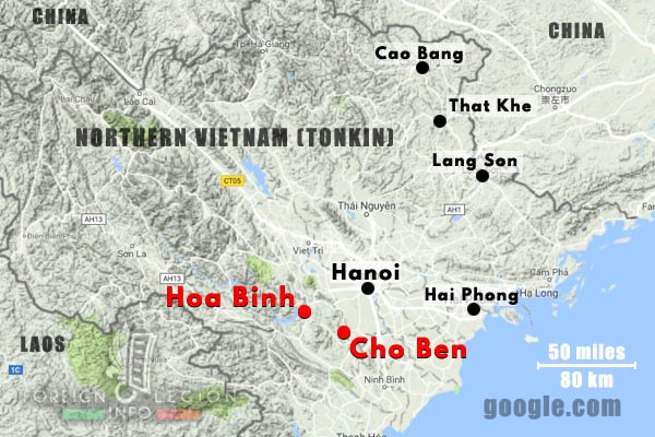 1er BEP - 1 BEP - Foreign Legion Etrangere - 1951 - Hoa Binh - Cho Ben