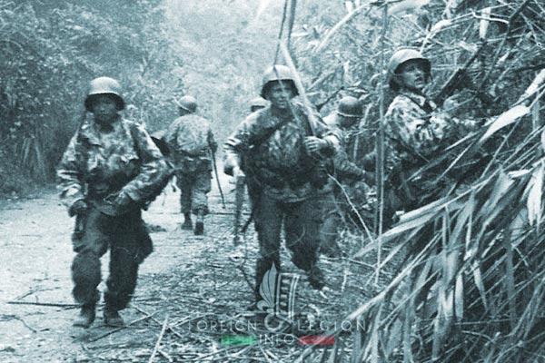1er BEP - 1 BEP - Foreign Legion Etrangere - 1952 - Hoa Binh