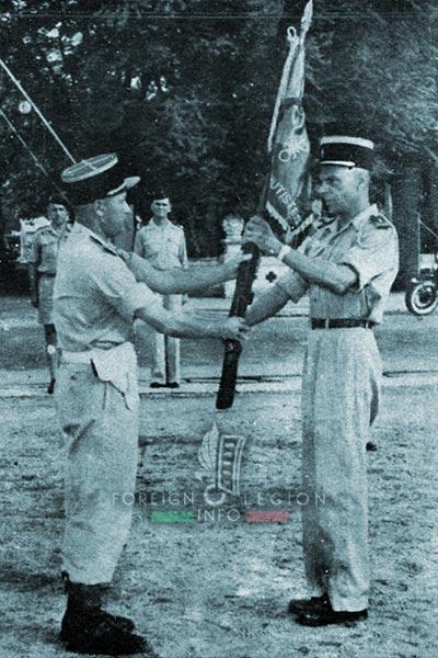 1er BEP - 1 BEP - Foreign Legion Etrangere - 1953 - Fanion - Guiraud