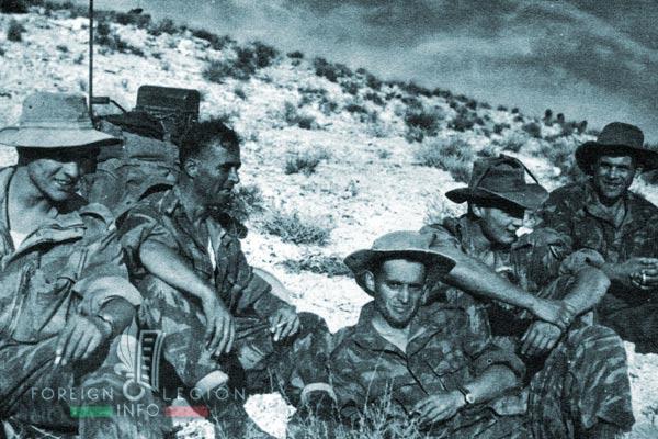 1er BEP - 1 BEP - Foreign Legion Etrangere - 1955 - Tebessa - Algeria
