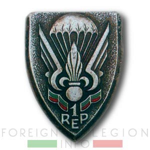 1er REP - 1 REP - Foreign Legion Etrangere - 1956 - Insignia - Insigne