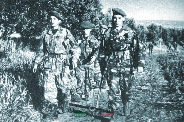 1er REP - 1 REP - Foreign Legion Etrangere - 1956 - Algeria