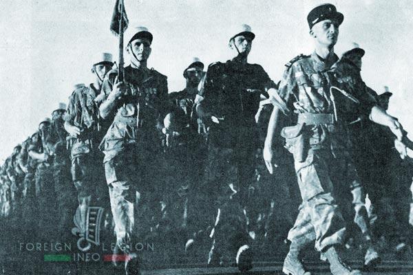 1er REP - 1 REP - Foreign Legion Etrangere - 1956 - Saint Michel - Blida - Algeria