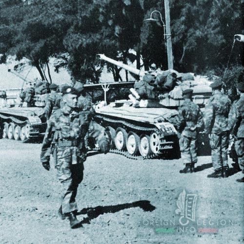 1er REP - 1 REP - Foreign Legion Etrangere - 1956 - Egypt - Suez Crisis - AMX 13 Tanks