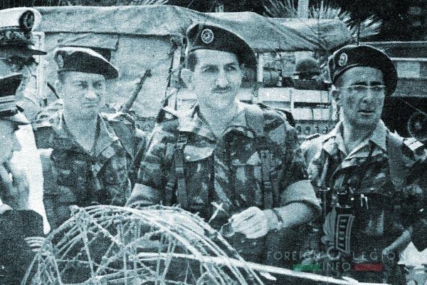 1er REP - 1 REP - Foreign Legion Etrangere - 1956 - Egypt - Jeanpierre - Massu - Brothier