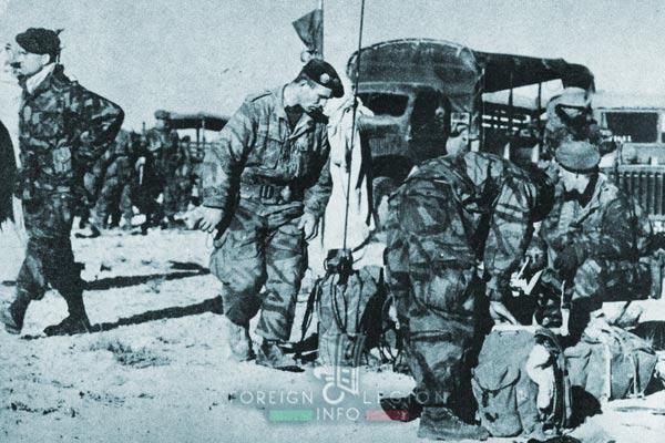 1er REP - 1 REP - Foreign Legion Etrangere - 1956 - Tebessa - Algeria