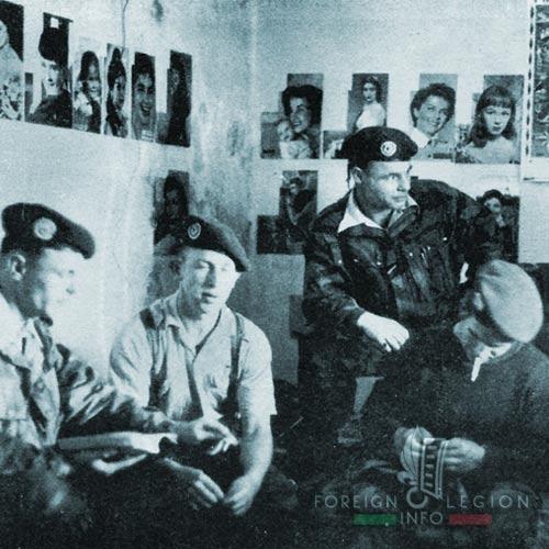 1er REP - 1 REP - Foreign Legion Etrangere - 1957 - Algiers - Freetime