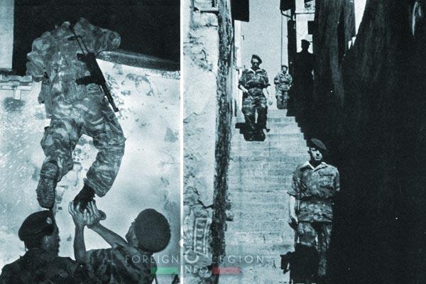 1er REP - 1 REP - Foreign Legion Etrangere - 1957 - Algiers - Patrol