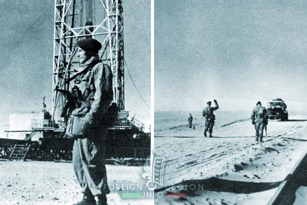 1er REP - 1 REP - Foreign Legion Etrangere - 1957 - Hassi Messaoud