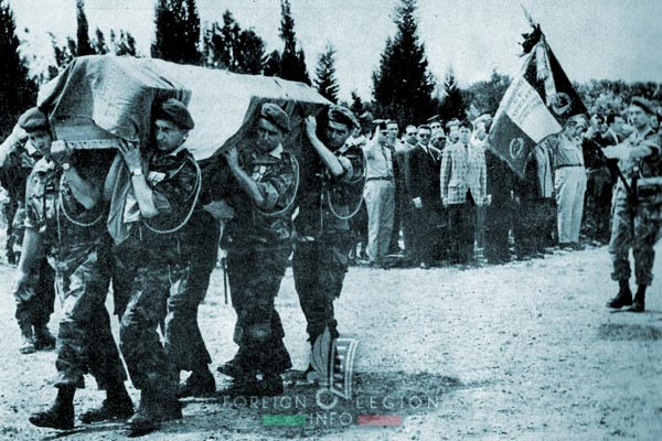 1er REP - 1 REP - Foreign Legion Etrangere - Algiers - Pierre Jeanpierre - Funeral