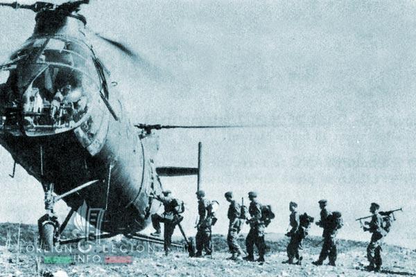 1er REP - 1 REP - Foreign Legion Etrangere - 1958 - Guelma - Algeria