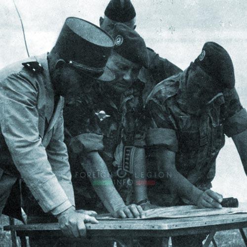 1er REP - 1 REP - Foreign Legion Etrangere - Algeria - 1958 - Jeanpierre - Lennuyeux