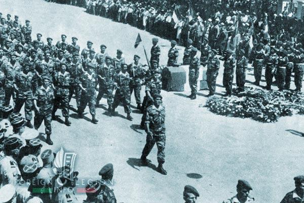 1er REP - 1 REP - Foreign Legion Etrangere - Guelma - Pierre Jeanpierre - Homage