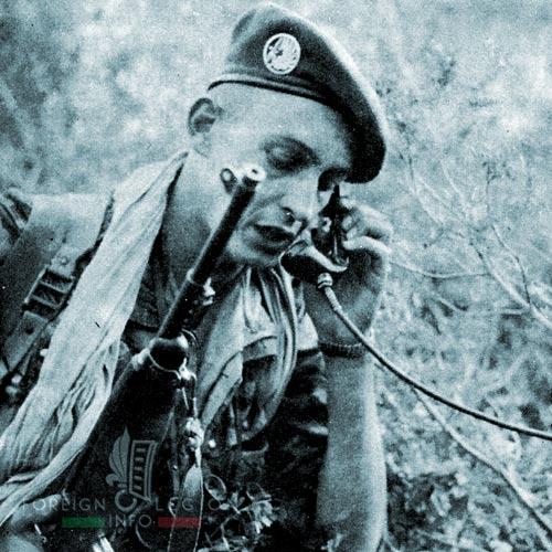 1er REP - 1 REP - Foreign Legion Etrangere - 1958 - Algeria - Lieutenant Gastaud