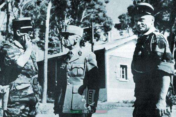 1er REP - 1 REP - Foreign Legion Etrangere - 1959 - Zeralda - Brothier - Gardy - Dufour