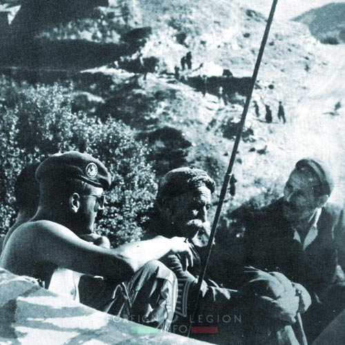 1er REP - 1 REP - Foreign Legion Etrangere - 1959 - Algeria - Jumelle - Bésineau