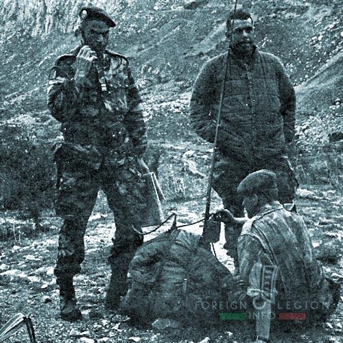 1er REP - 1 REP - Foreign Legion Etrangere - 1961 - Algeria - Guiraud