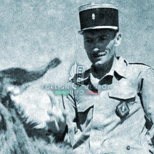 2e REC - 2 REC - 1er REP - 1 REP - Foreign Legion Etrangere - Algeria - Maurice Hautechaud