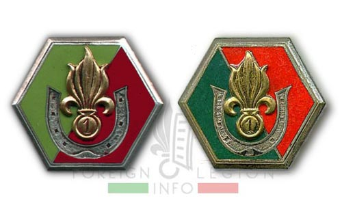 1re CSPL - 1 CSPL - Saharan Company insignia - Compagnie Saharienne insigne