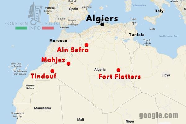 1 CSPL - Saharan Company - Compagnie Saharienne - Algerie - Algeria - 1945-54