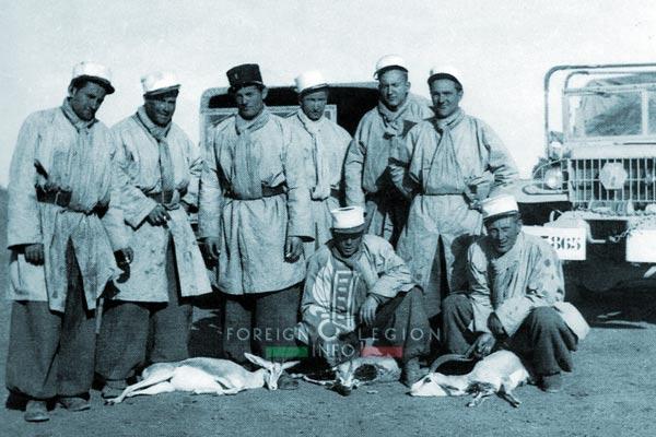 1re CSPL - 1 CSPL - Foreign Legion Etrangere - Sahara - Algeria - Legionnaires - 1947-49