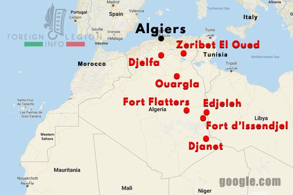 1 CSPL - Saharan Company - Compagnie Saharienne - Algerie - Algeria - 1955-58