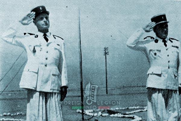 1re CSPL - 1 CSPL - Foreign Legion Etrangere - Pierre Gatti - Mattei - 1955