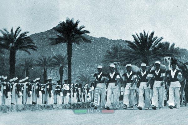 1re CSPL - 1 CSPL - Foreign Legion Etrangere - Djanet - Algeria - 1956