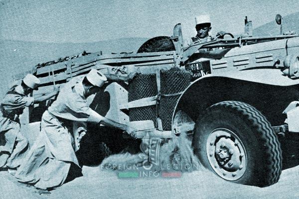 1re CSPL - 1 CSPL - Foreign Legion Etrangere - Dodge - Edjeleh - Algeria - 1958