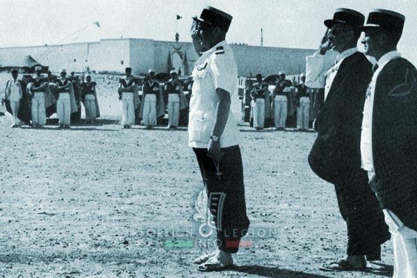 1re CSPL - 1 CSPL - Foreign Legion Etrangere - Fort Flatters - Algeria - 1958