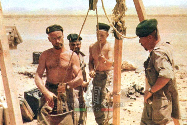 1re CSPL - 1 CSPL - Foreign Legion Etrangere - Berets - Algeria - 1960