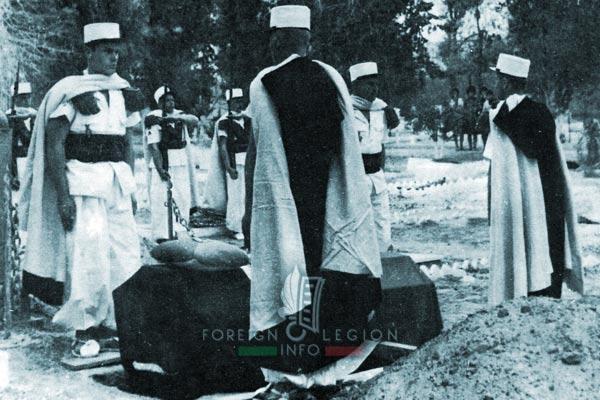1er ESPL - 1 ESPL - Foreign Legion Etrangere - Lieutenant Gelas - Funeral - 1962